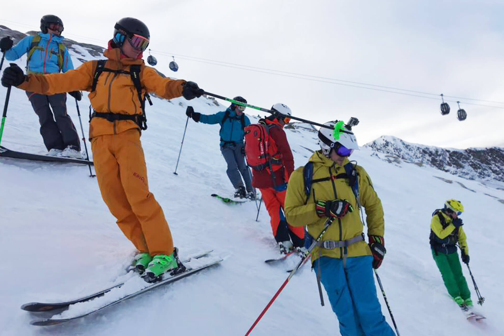 Epique - Piste ski en snowboard techniek training