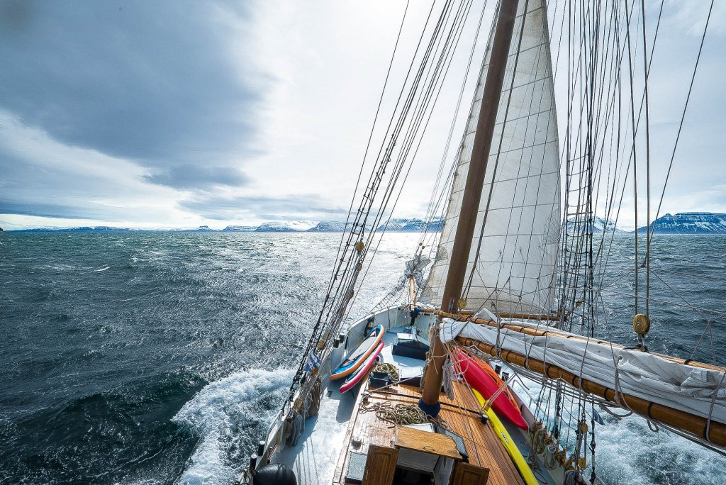 Sailing with the Arktika in Iceland