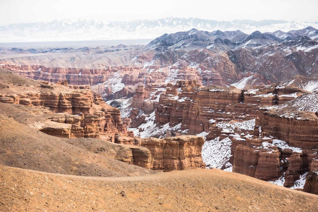 Charyn Canyon in Kazachstan