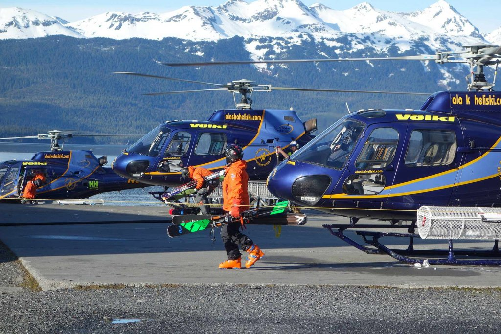Points North Heliskiën en boarden in Alaska